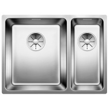 Кухонная мойка Blanco Andano 340/180-U слевая/клапан-стоп