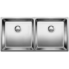 Кухонная мойка Blanco Andano 400/400-IF без клапана-автомата