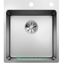 Кухонная мойка Blanco Andano 400/400-IF-A клапан-автомат