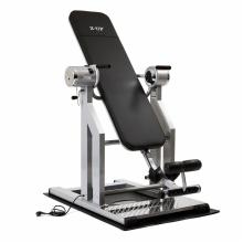 Инверсионный стол Z-UP 5 серебряная рама/черная спинка