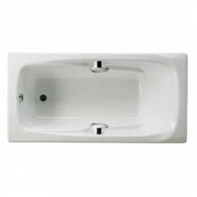 Ванна Roca Ming 2302G000R 170х85 белый с отверстиями под ручки